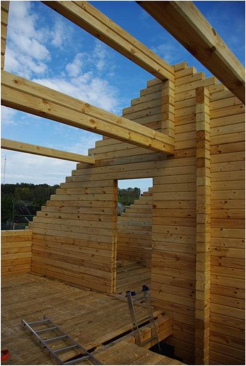 Как построить деревянный дом своими руками от фундамента до крыши 53